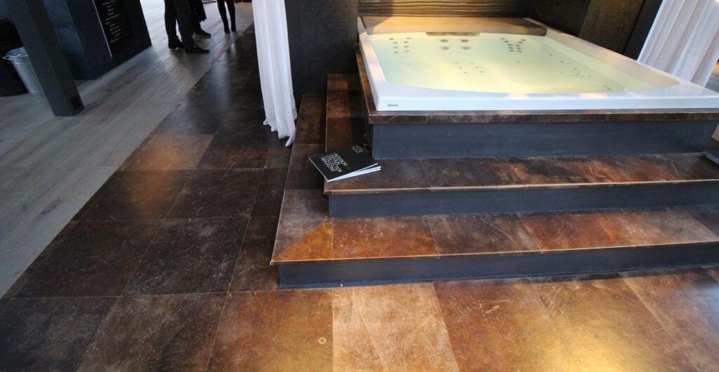 Leather flooring in Amsterdam by Vloerenhuis Amsterdam