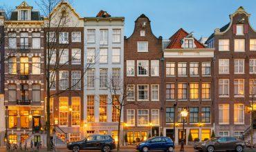 Dit is een foto van het Ambassade hotel waar wij een eiken parketvloer hebben gelegd in Amsterdam
