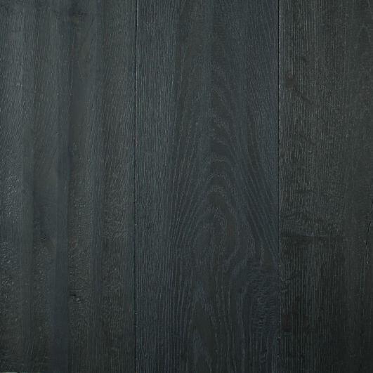 Royal Dutch Floor Jan van Amstel Amsterdam parket op vloerverwarming zwart parket