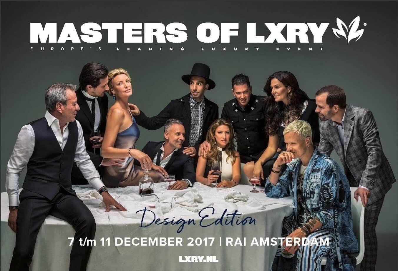 Bauwerk in samenwerking met de Masters of LXRY in de Rai in Amsterdam.