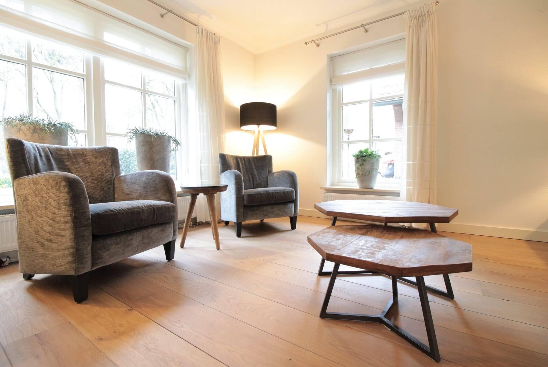 Rustieke plankenvloer royl olie vloerenhuis amsterdam